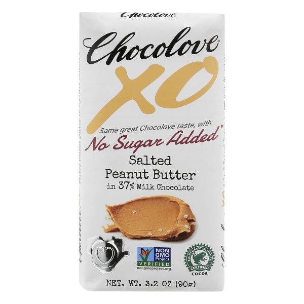 slide 1 of 1, Chocolove Salted Peanut Butter in Milk Chocolate,