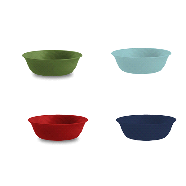 slide 1 of 1, PP Individual Bowl Assorted Colors,