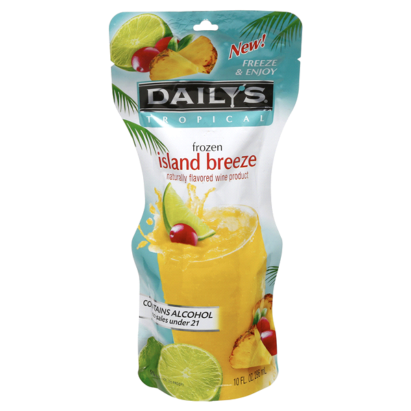 slide 1 of 2, Daily's Frozen Island Breeze Cocktail,