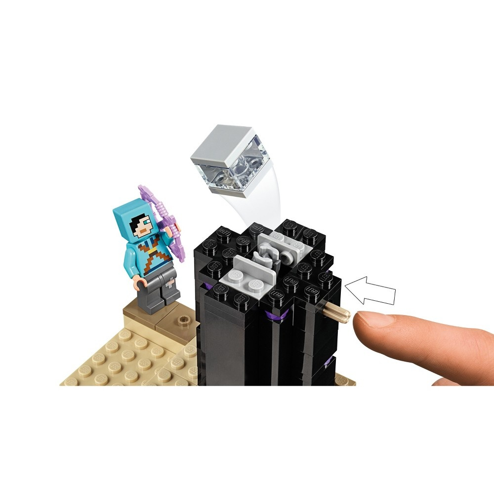 slide 7 of 7, LEGO Minecraft The End Battle 21151,