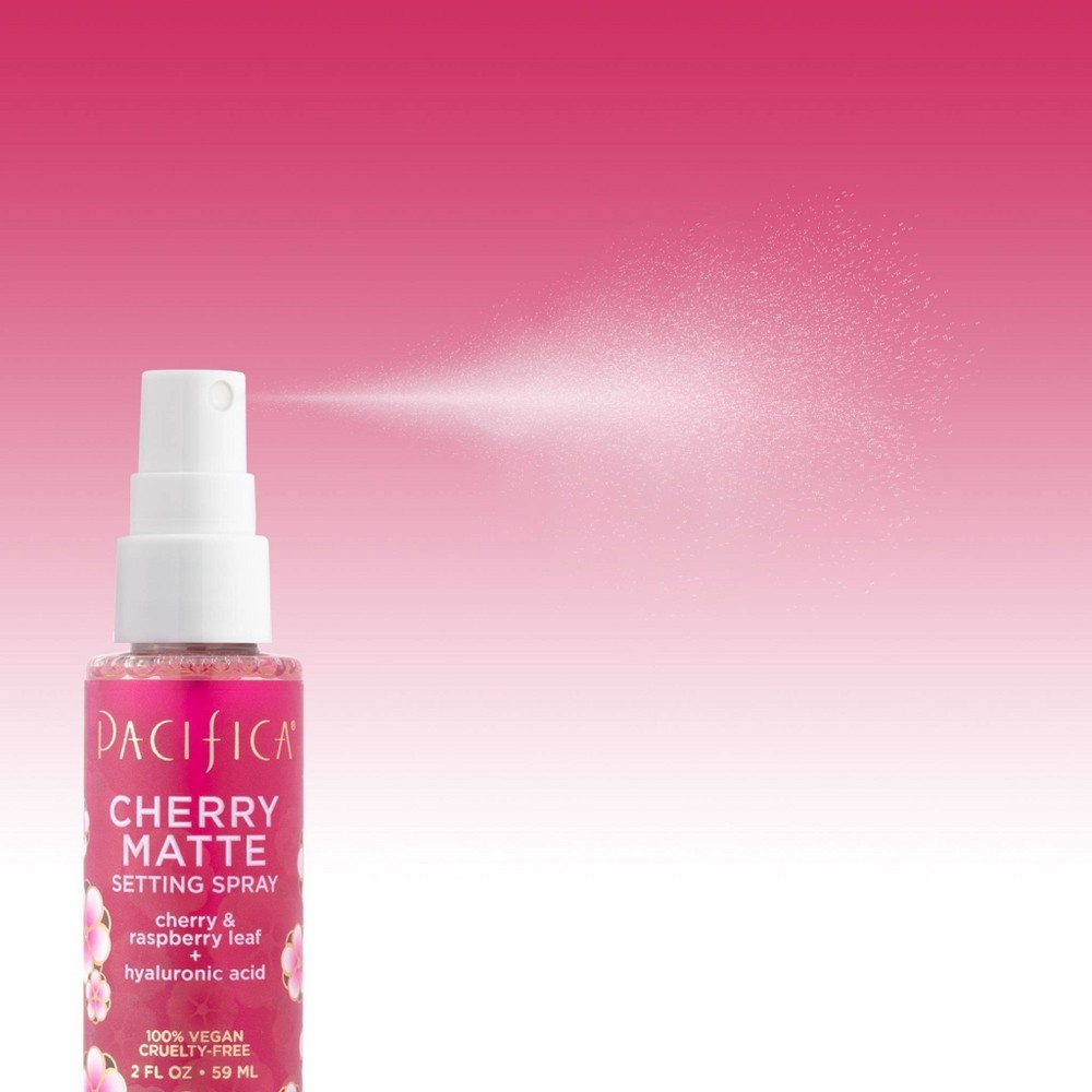 slide 3 of 3, Pacifica Cherry Matte Setting Spray,