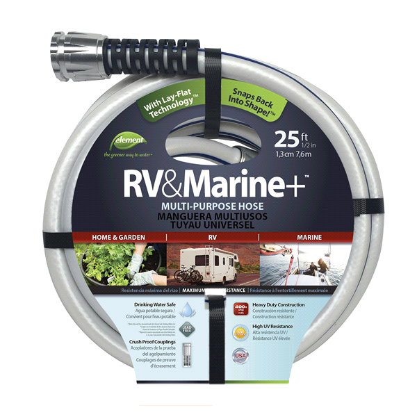 slide 1 of 1, Element 1/2 in. Diameter Marine/RV Water Hose,