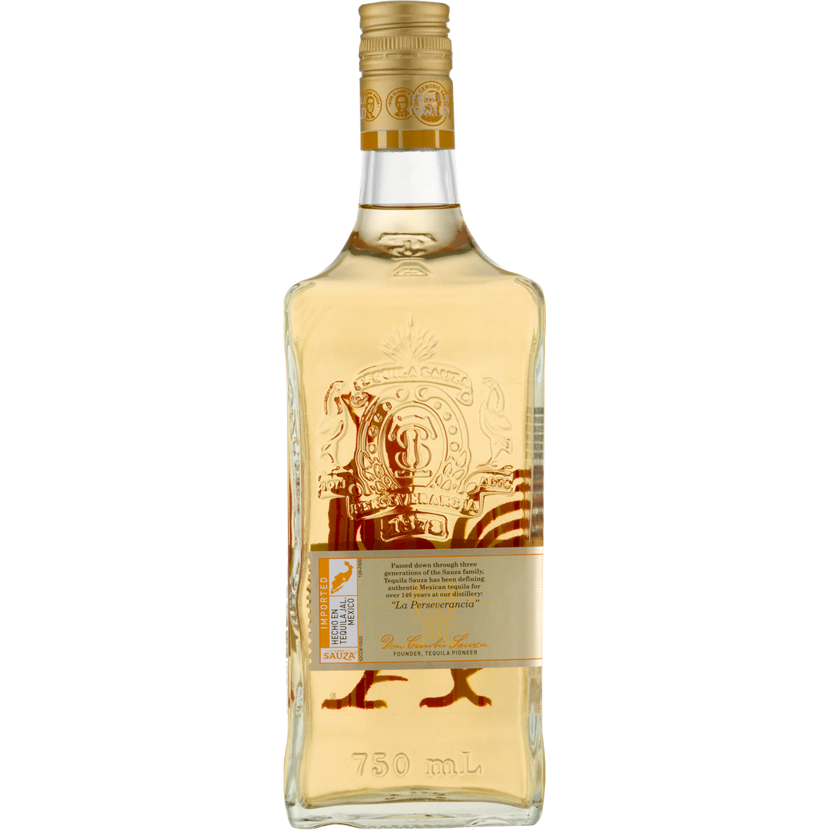 slide 2 of 2, Sauza Gold Tequila,