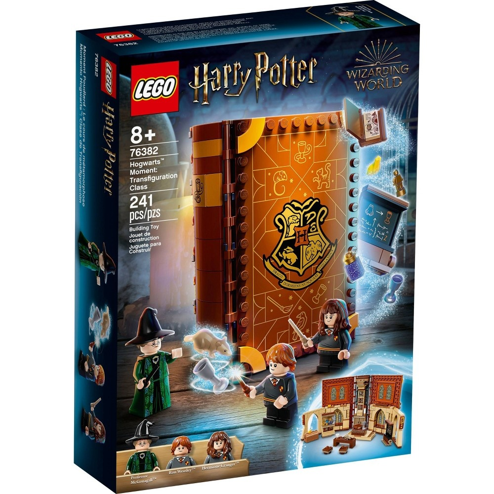 slide 4 of 7, LEGO Harry Potter Hogwarts Moment: Transfiguration Class; Collectible Playset 76382,