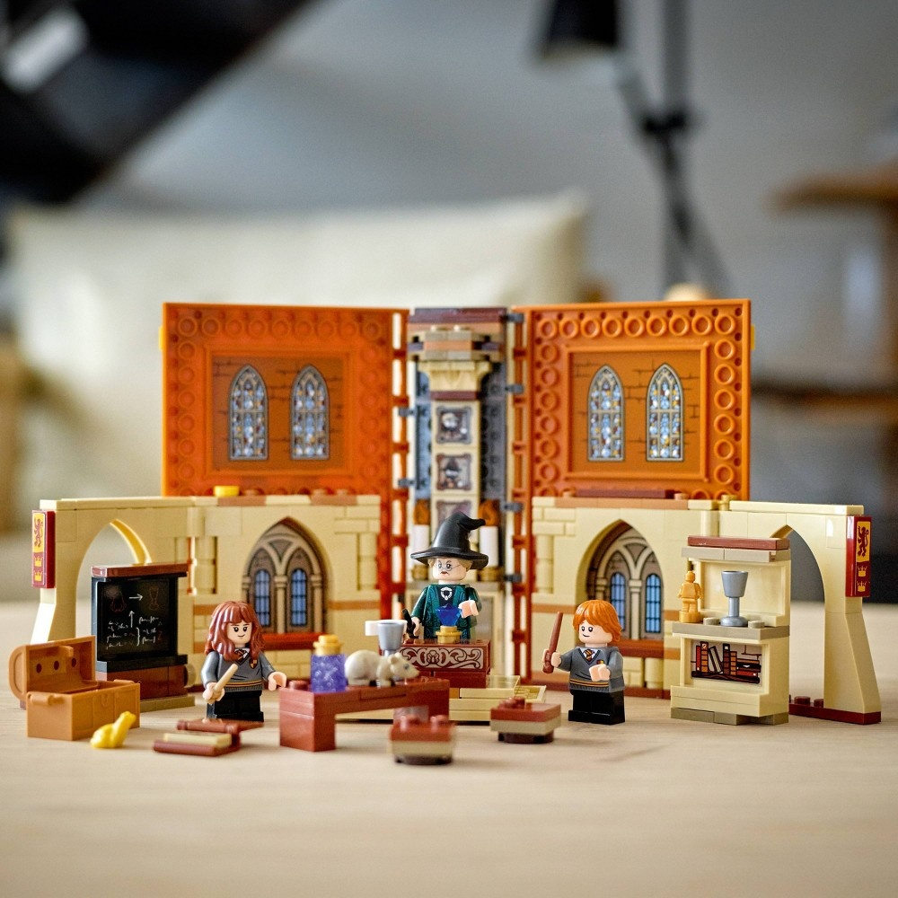 slide 7 of 7, LEGO Harry Potter Hogwarts Moment: Transfiguration Class; Collectible Playset 76382,