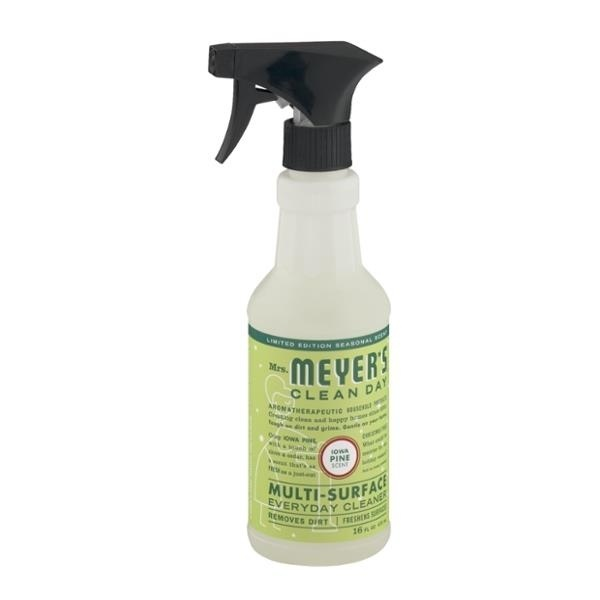 slide 1 of 2, Mrs. Meyer's Clean Day Iowa Pine Multi-Surface Everyday Cleaner,