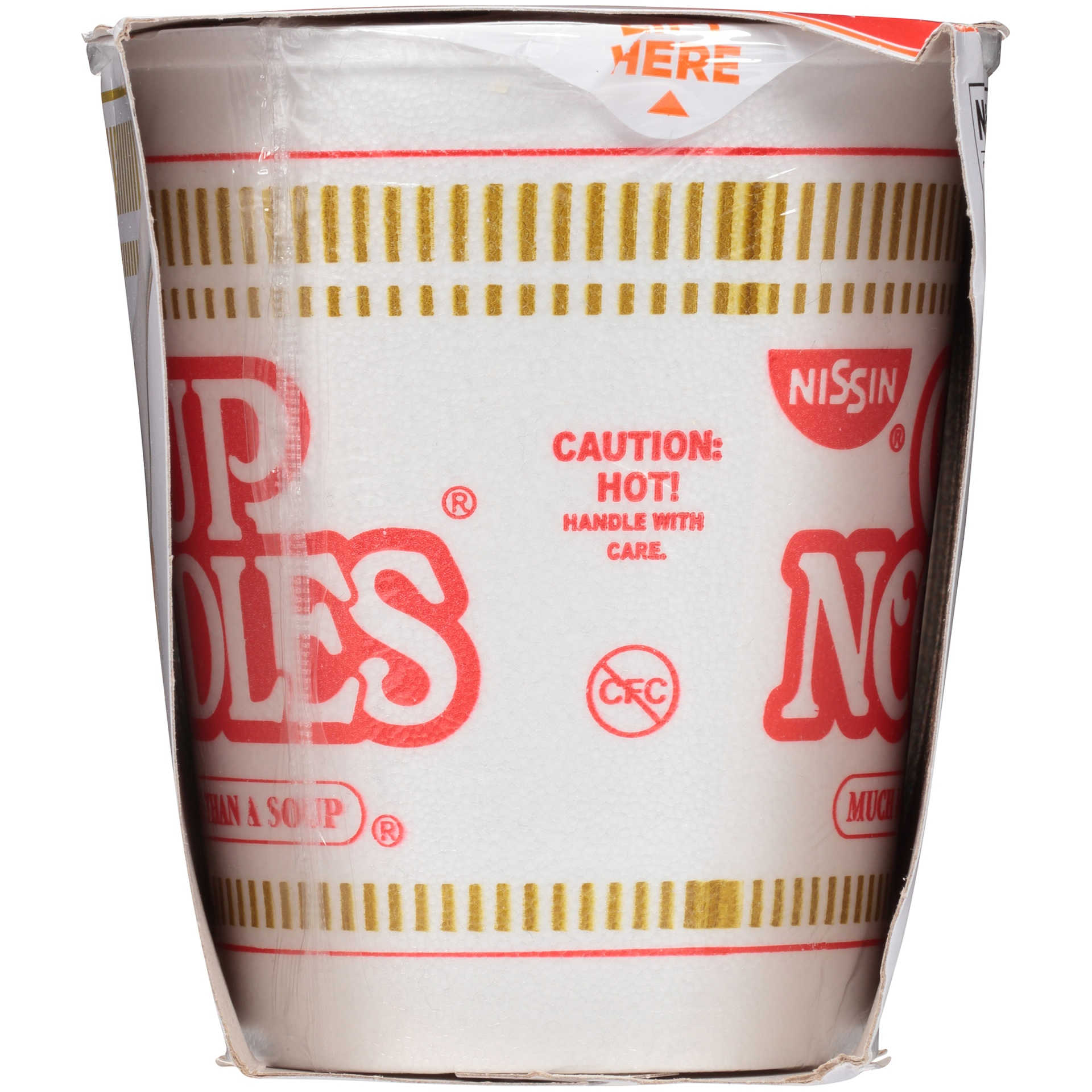 slide 5 of 8, Nissin Cup Noodles Chicken Flavor Ramen Noodle Soup,