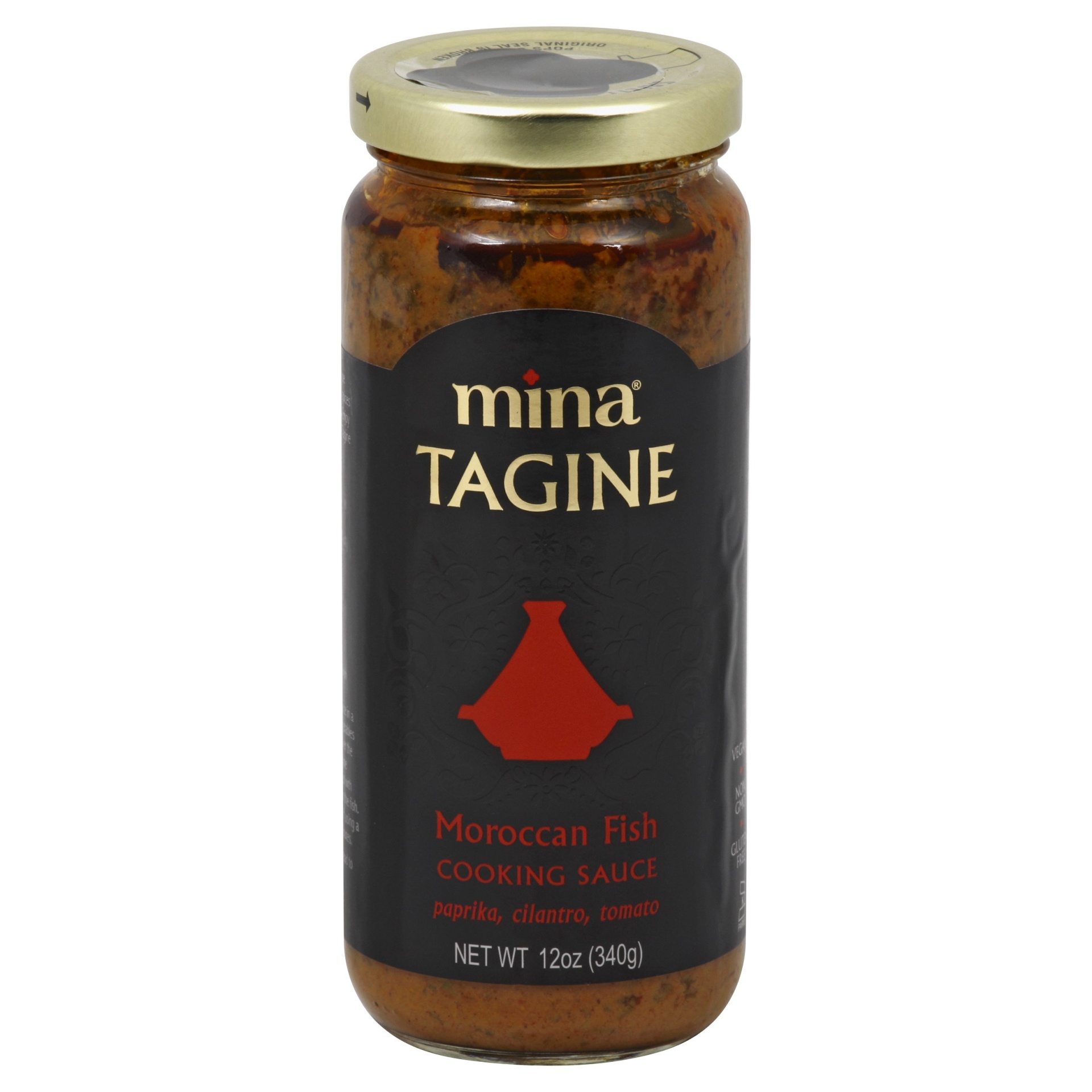 slide 1 of 2, Mina Tagine Moroccan Fish Cooking Sauce,