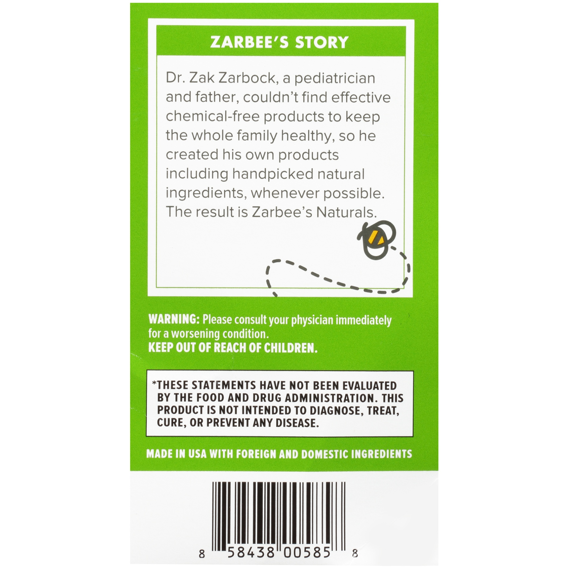 slide 4 of 6, Zarbee's Naturals Baby Cough Syrup + Mucus Relief,