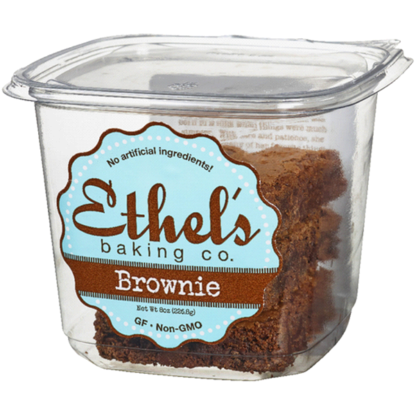 slide 1 of 1, Ethel's Baking Co. Brownie,