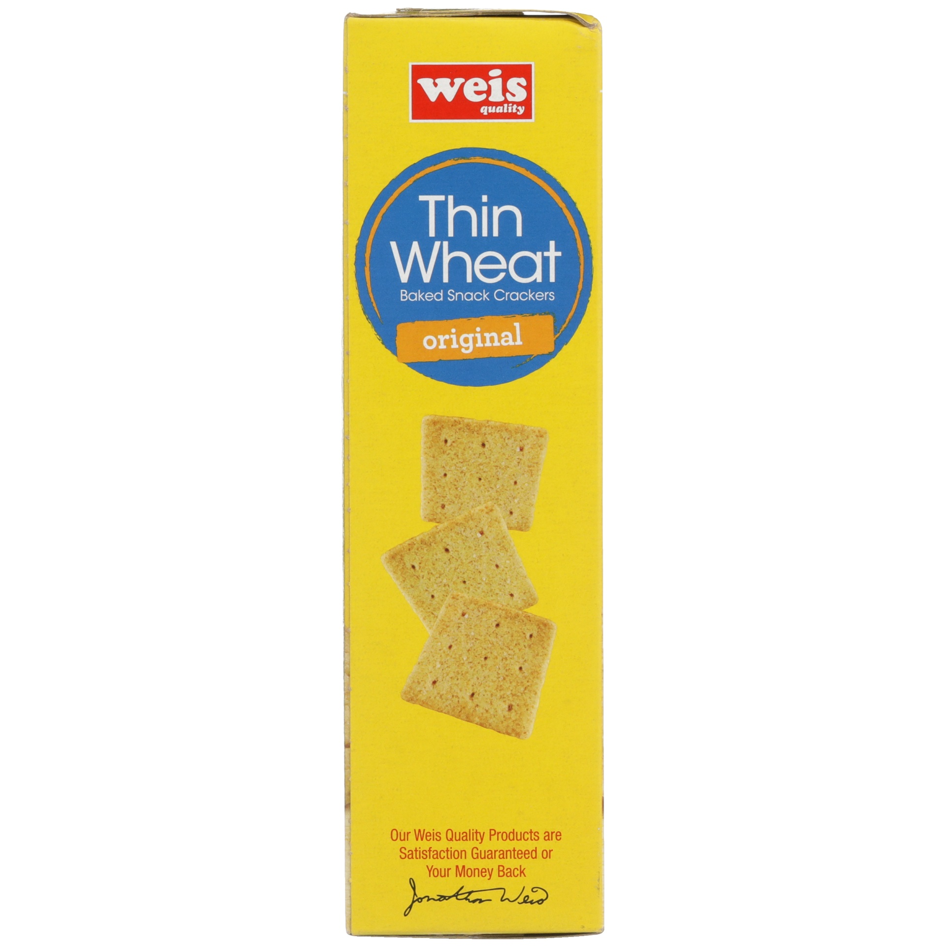 slide 5 of 6, Weis Quality Wheat Thin Cracker,