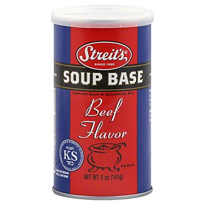 slide 1 of 1, Streit's Beef Soup Bask,
