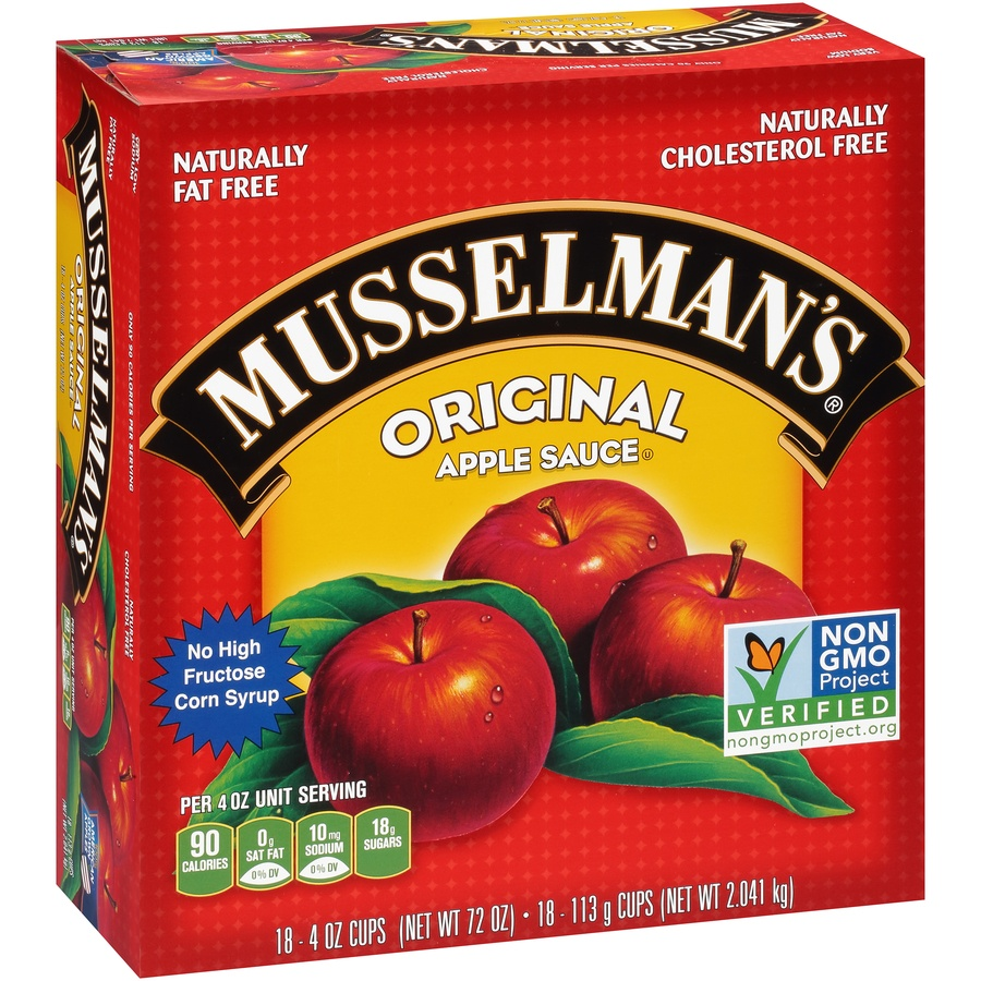 slide 2 of 8, Musselman's Original Apple Sauce,