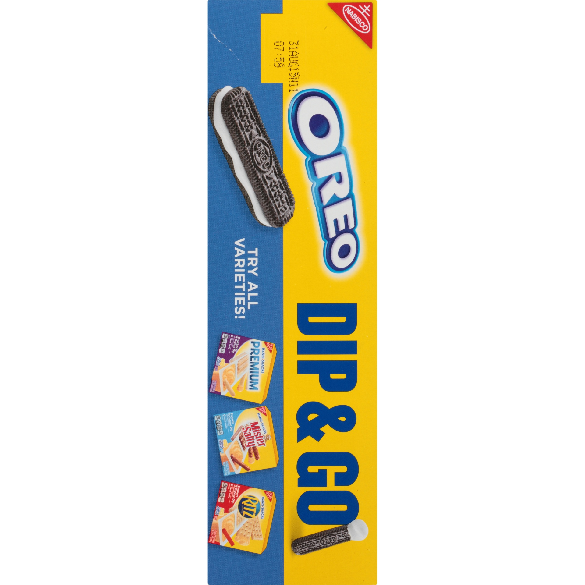 slide 4 of 8, Nabisco Handi-Snacks Oreo Cookie Sticks 'n Creme Dip,