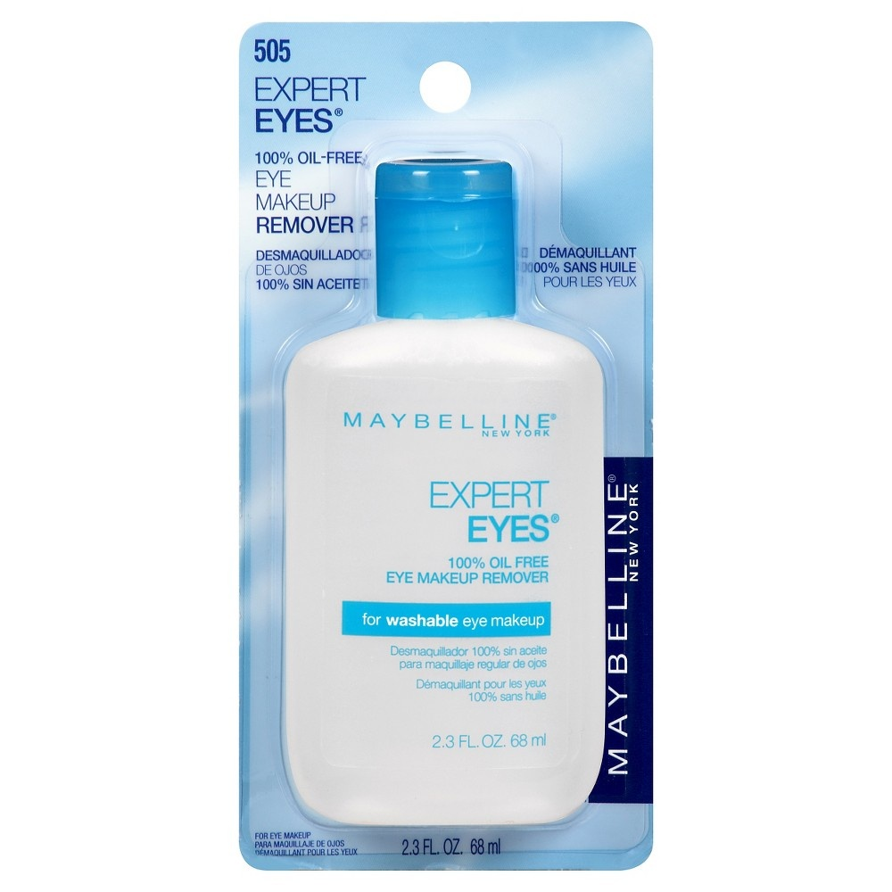 slide 2 of 5, Maybelline Expert Eyes 100% Oil Free Makeup Remover,