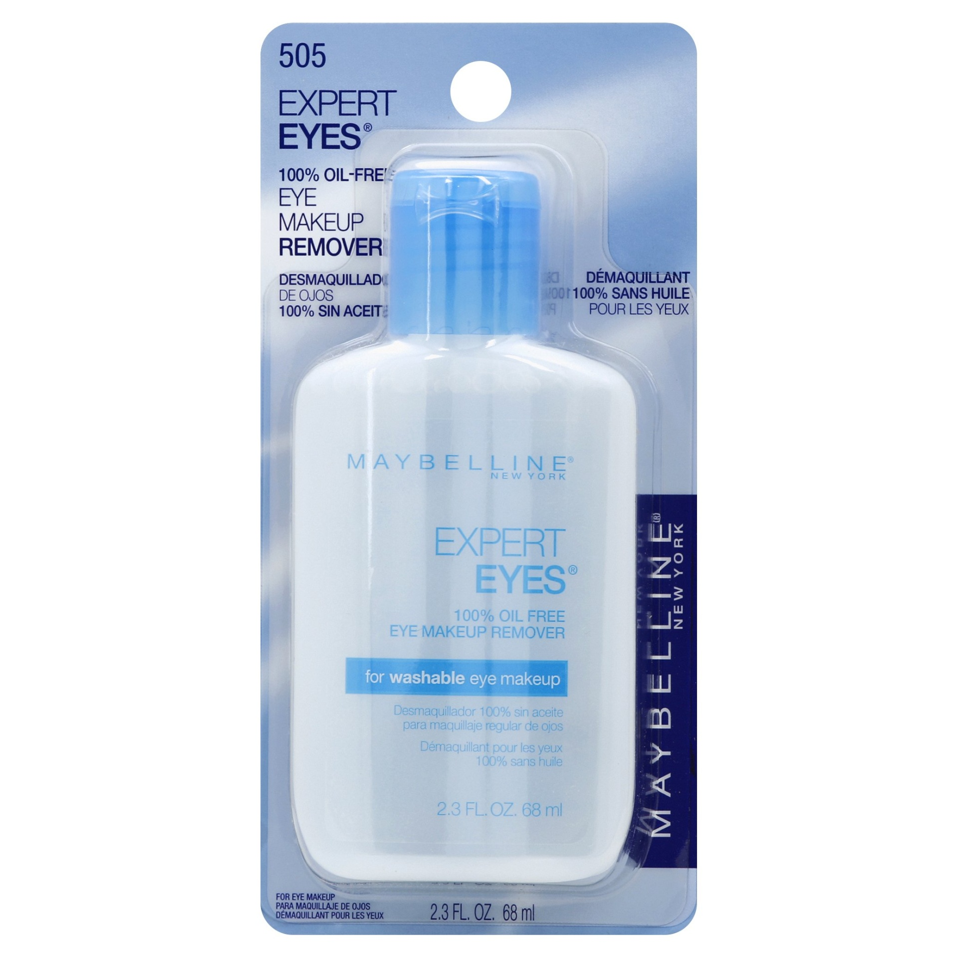 slide 1 of 5, Maybelline Expert Eyes 100% Oil Free Makeup Remover,