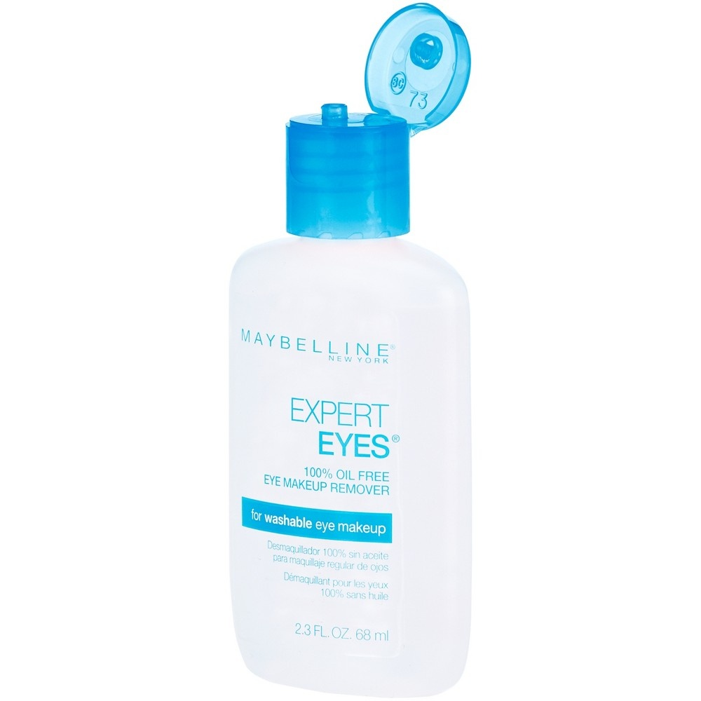 slide 5 of 5, Maybelline Expert Eyes 100% Oil Free Makeup Remover,
