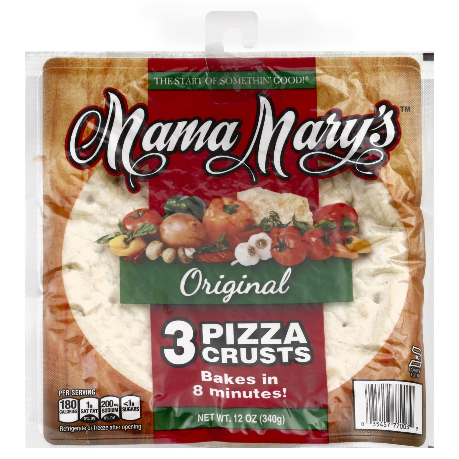 slide 1 of 4, Mama Mary's Pizza Crusts,