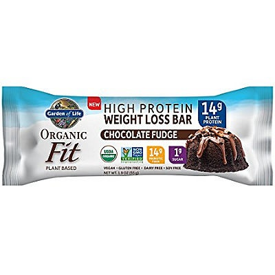 slide 1 of 1, Garden of Life Organic Fit Bar Chocolate Fudge,