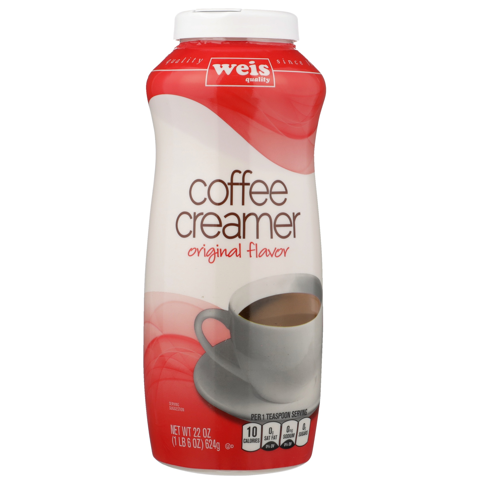 slide 1 of 6, Weis Quality Non-Dairy Coffee Creamer,