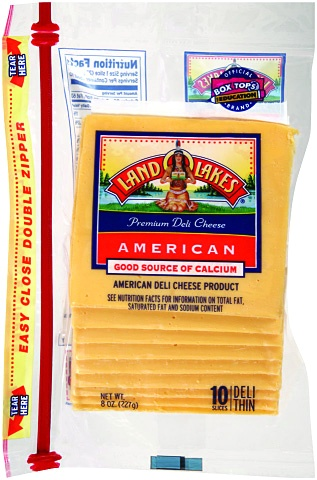 slide 2 of 7, Land O'Lakes Premium Deli Yellow American Cheese,