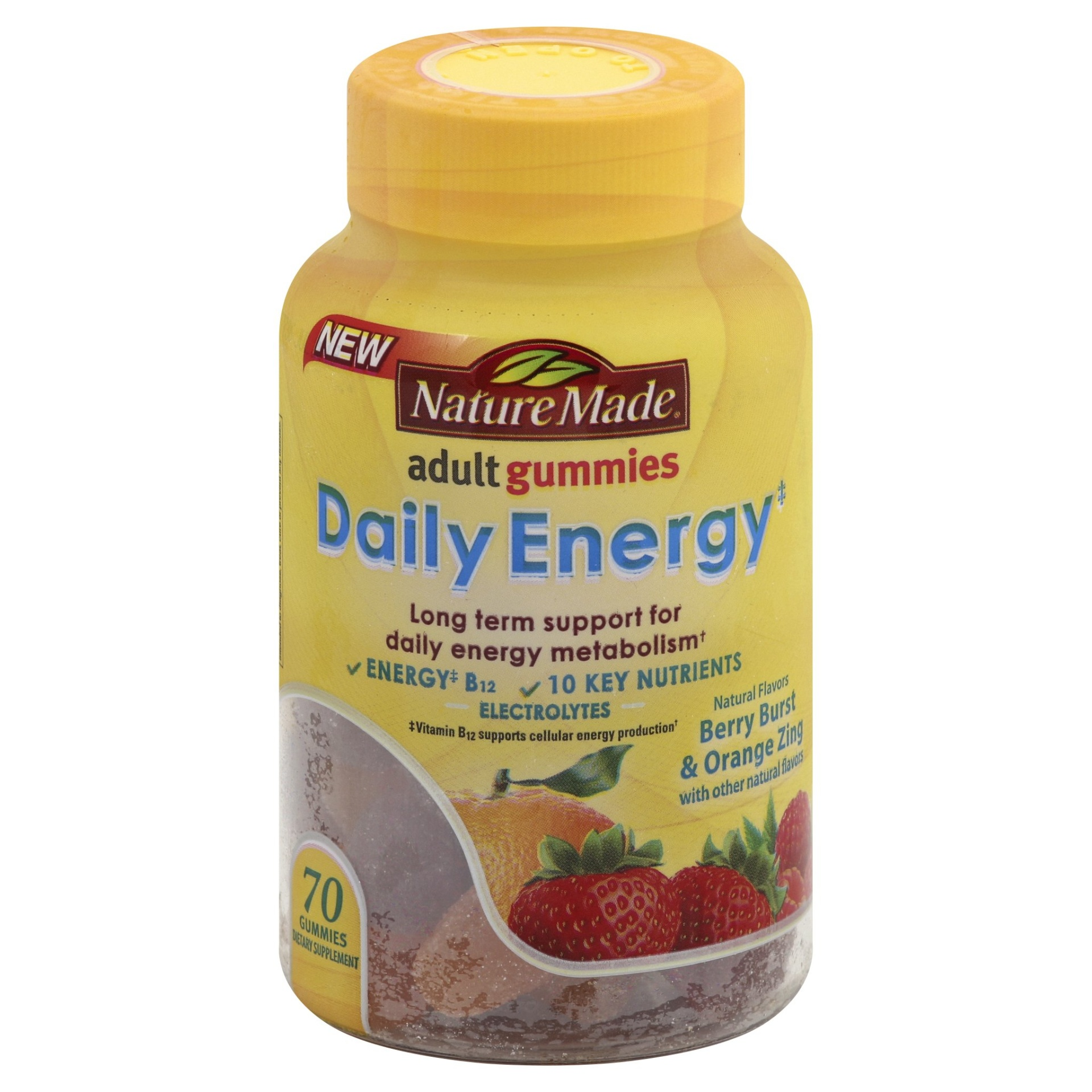 slide 1 of 1, Nature Made Daily Energy Support Mineral Supplement Gummies,
