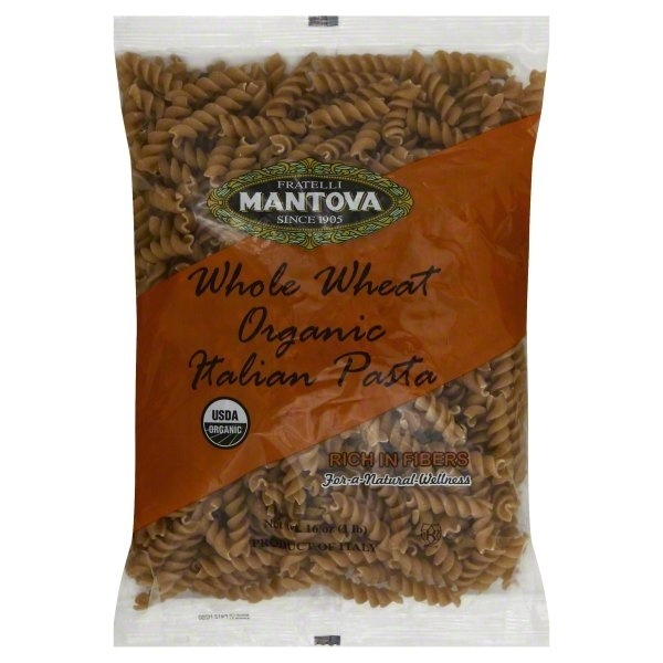 slide 1 of 1, Mantova Whole Wheat Organic Spiral Italian Pasta,