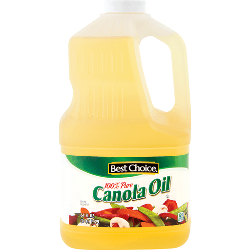 slide 1 of 1, Best Choice 100% Pure Canola Oil,