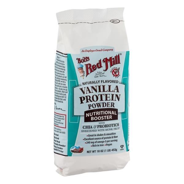slide 1 of 1, Bob's Red Mill Vanilla Protein Powder With Chia,