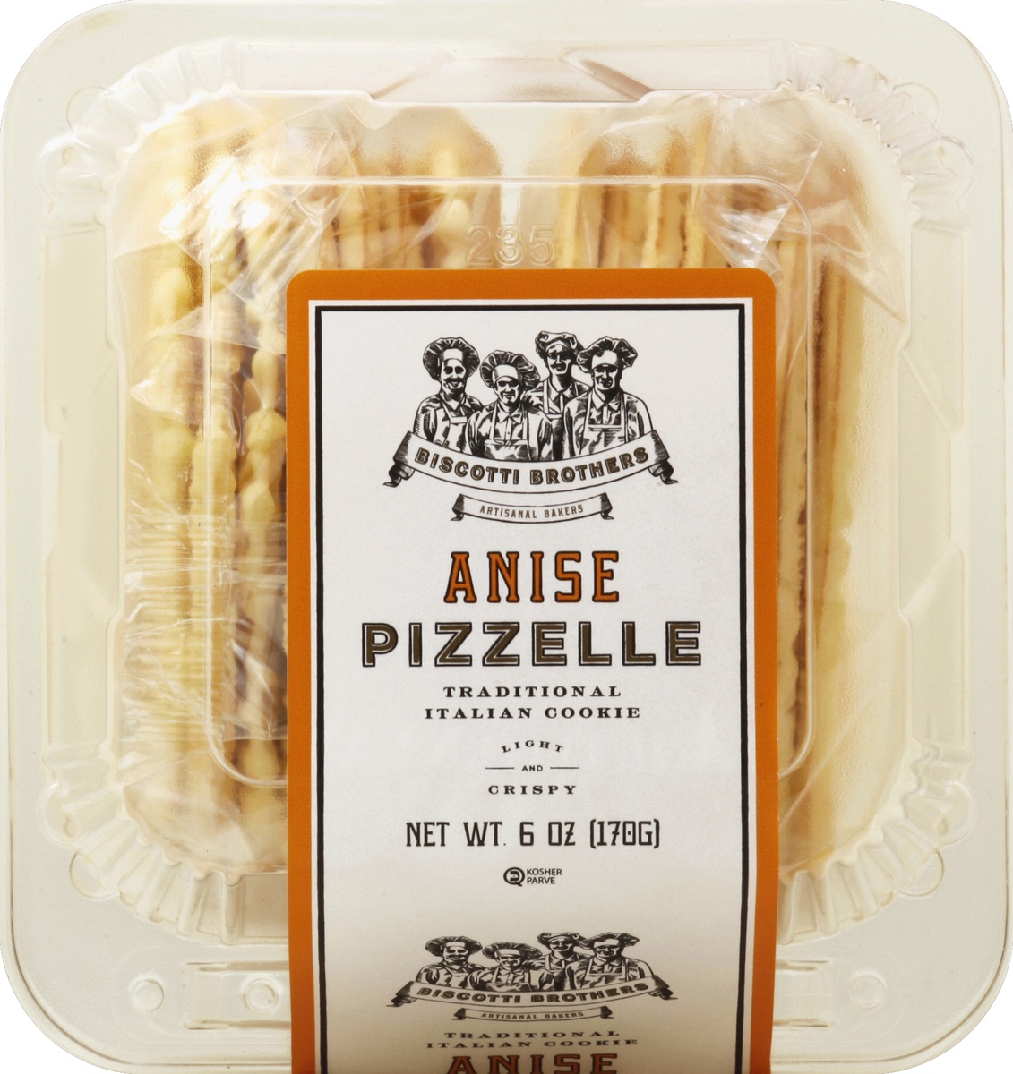 slide 2 of 4, Biscotti Brothers Bakery Anise Pizzelle,