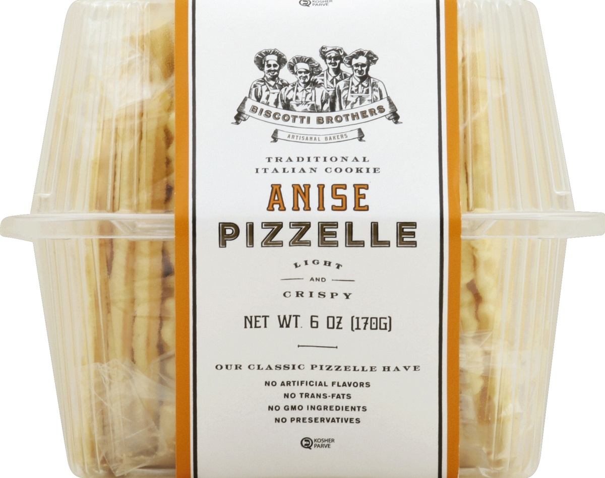 slide 4 of 4, Biscotti Brothers Bakery Anise Pizzelle,