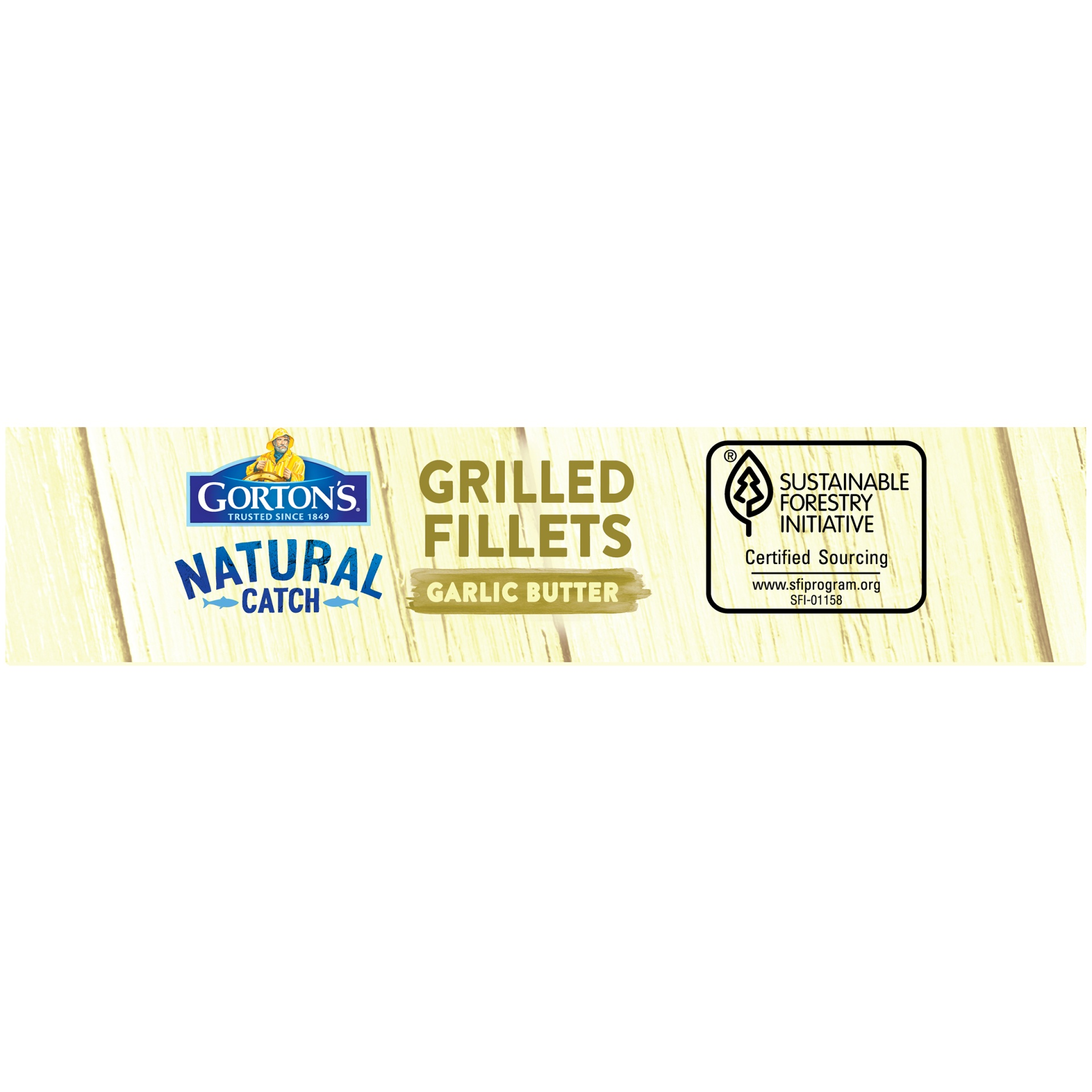 slide 4 of 8, Gorton's Grilled Garlic Butter Fish Fillets,