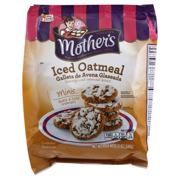 slide 1 of 5, Mother's Cookies Iced Oatmeal,