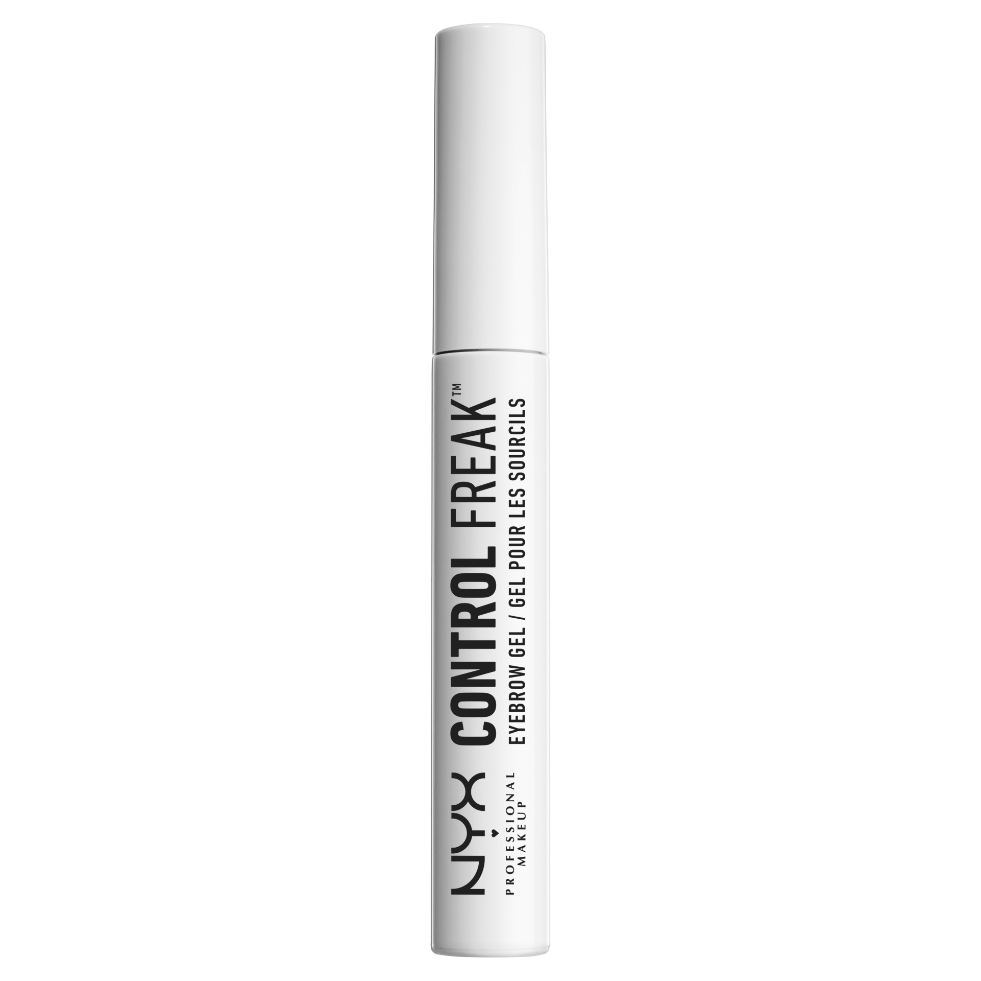 slide 1 of 5, NYX Professional Makeup Control Freak Eyebrow Gel Clear,