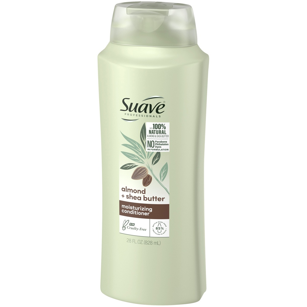 slide 3 of 3, Suave Professionals Almond and Shea Butter Moisturizing Conditioner,