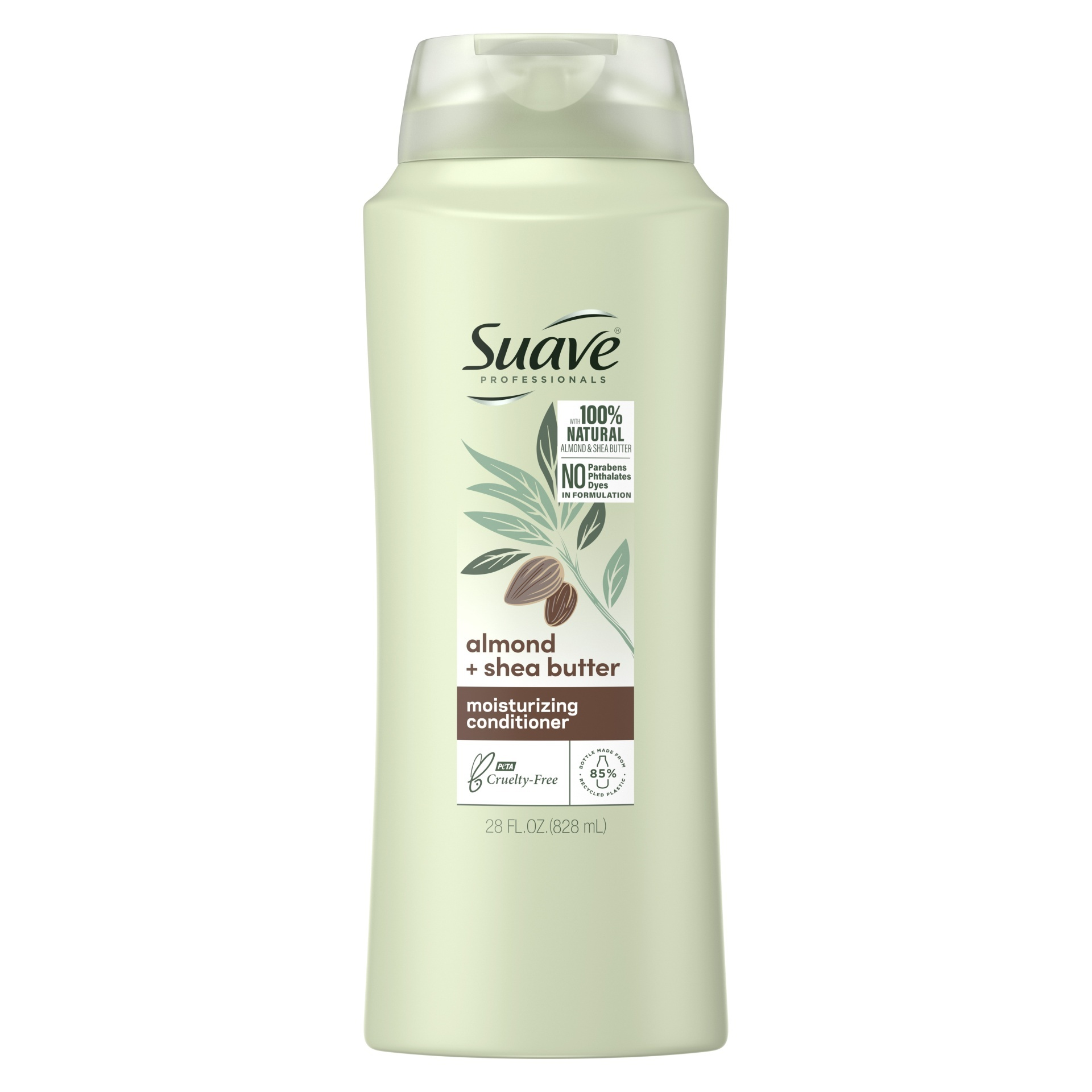 slide 1 of 3, Suave Professionals Almond and Shea Butter Moisturizing Conditioner,