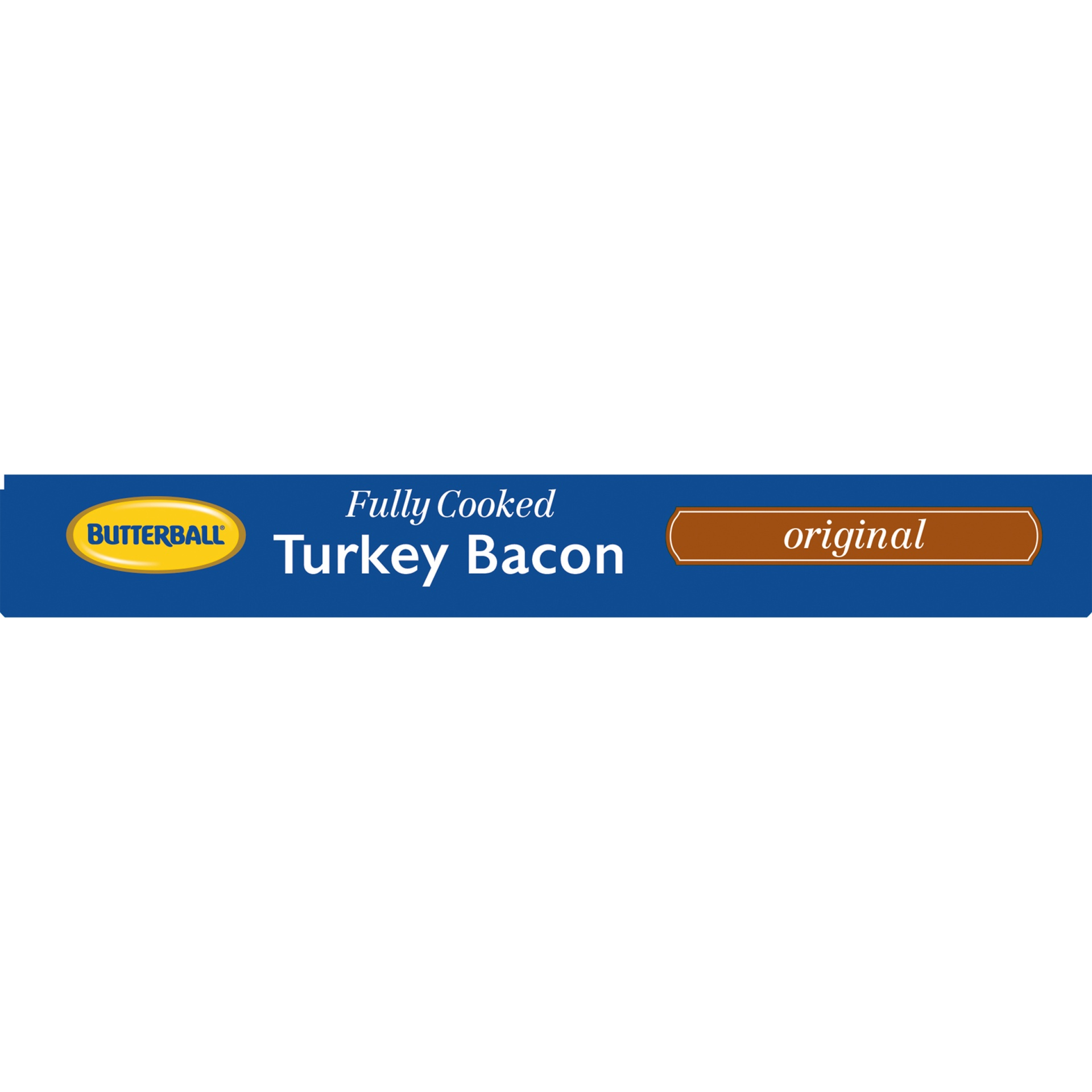 slide 4 of 8, Butterball Every Day Original Fully Cooked Turkey Bacon,