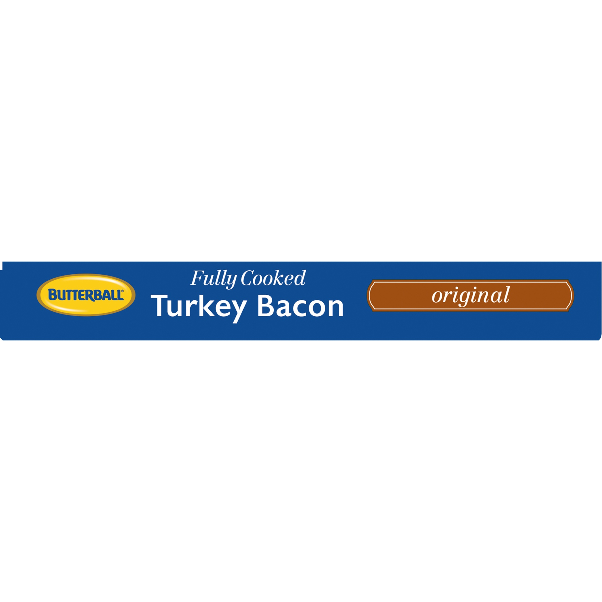 slide 5 of 8, Butterball Every Day Original Fully Cooked Turkey Bacon,