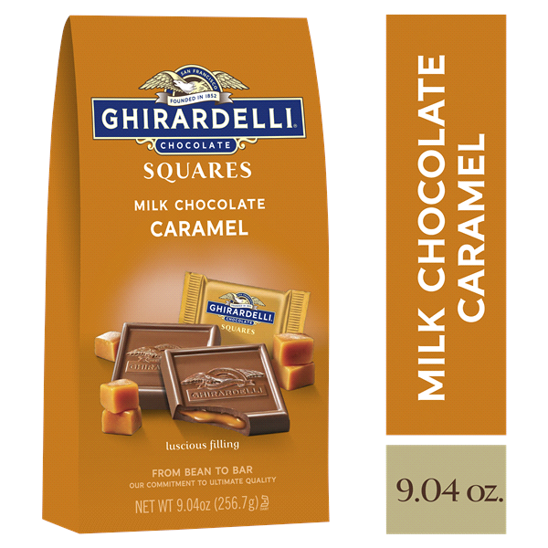 slide 1 of 5, Ghirardelli Chocolate Squares, Milk & Caramel,