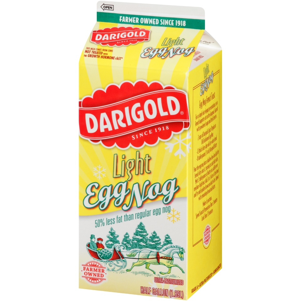 slide 3 of 8, Darigold Light Egg Nog,