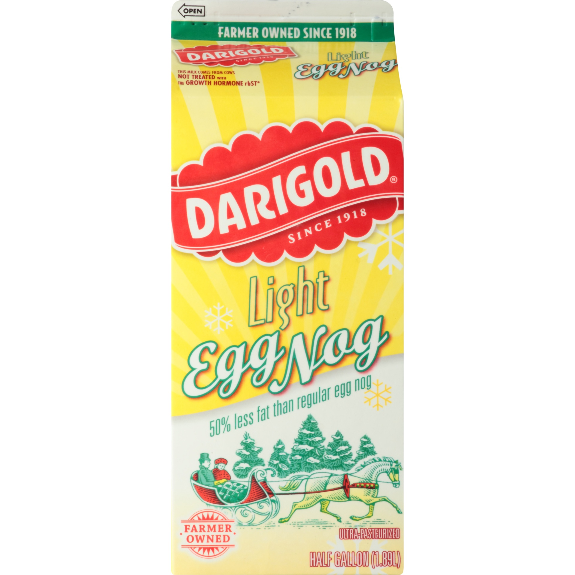slide 6 of 8, Darigold Light Egg Nog,
