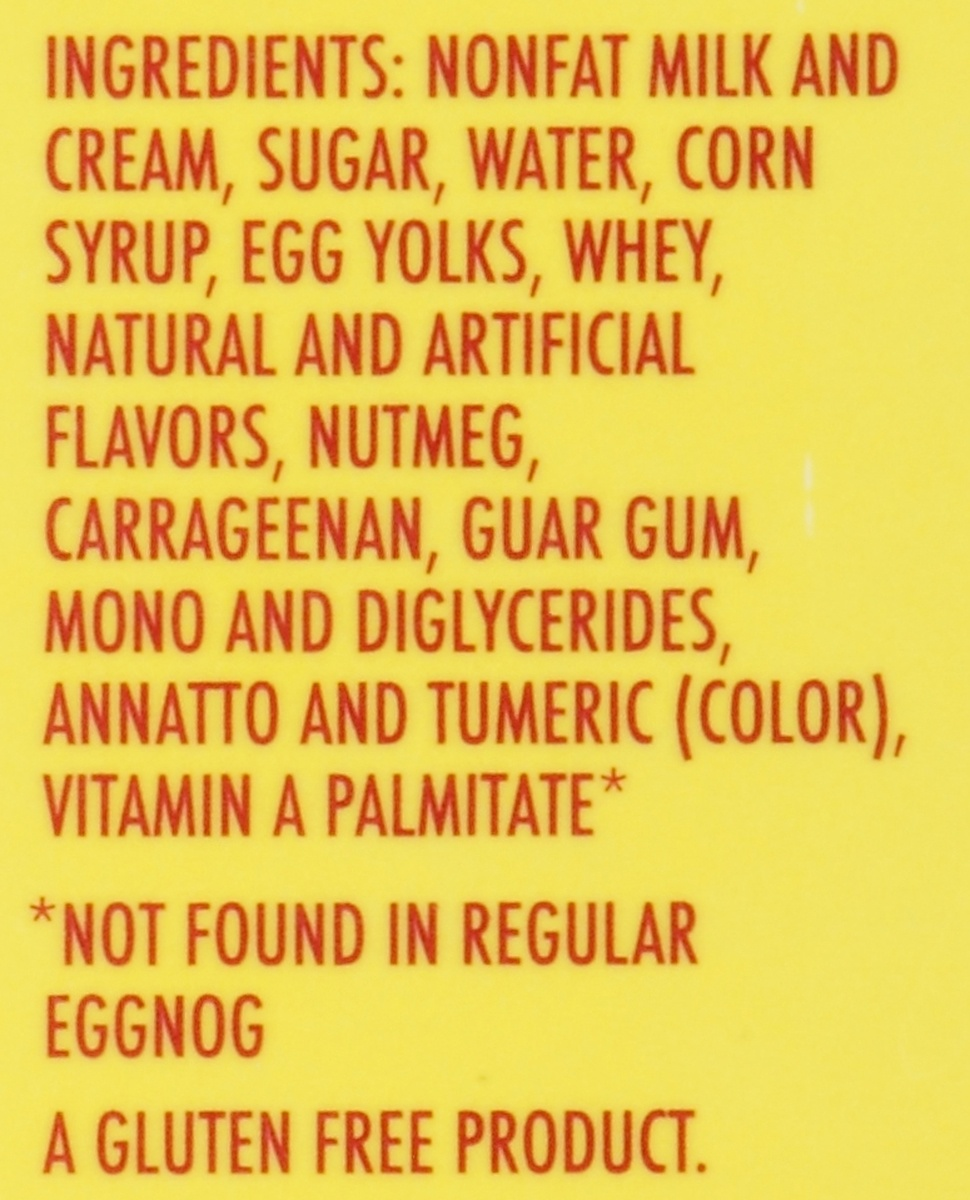 slide 8 of 8, Darigold Light Egg Nog,