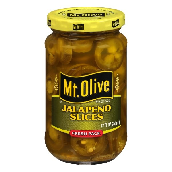 slide 1 of 6, Mt. Olive Jalapeno Slices,