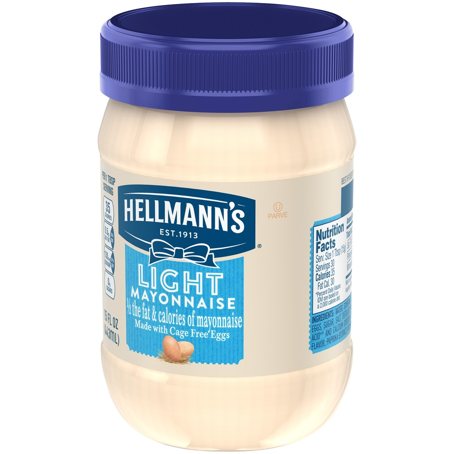 slide 3 of 5, Hellmann's Light Mayonnaise,