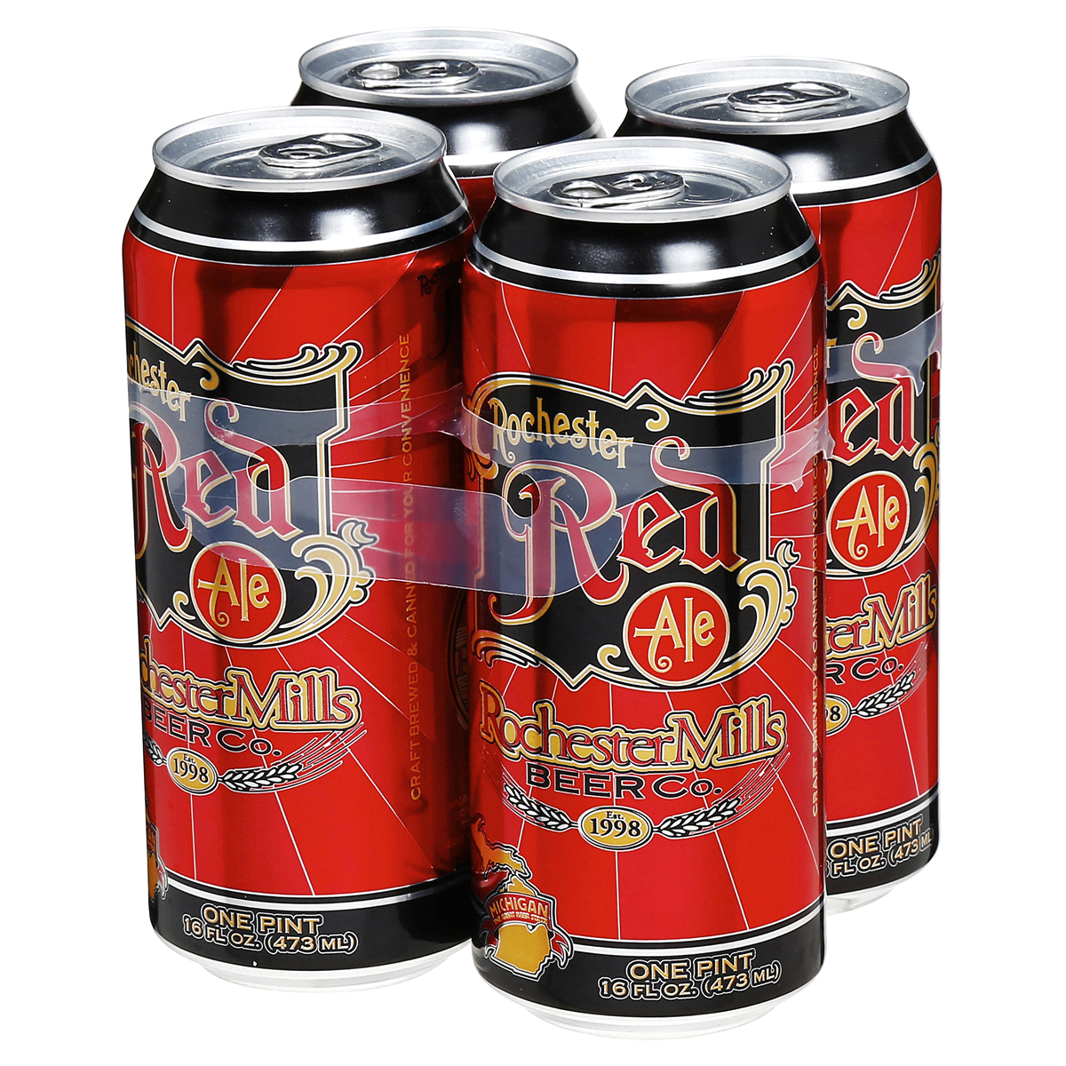 slide 2 of 4, Rochester Mills Red Ale,