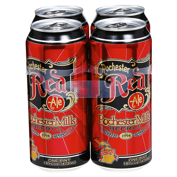 slide 1 of 4, Rochester Mills Red Ale,