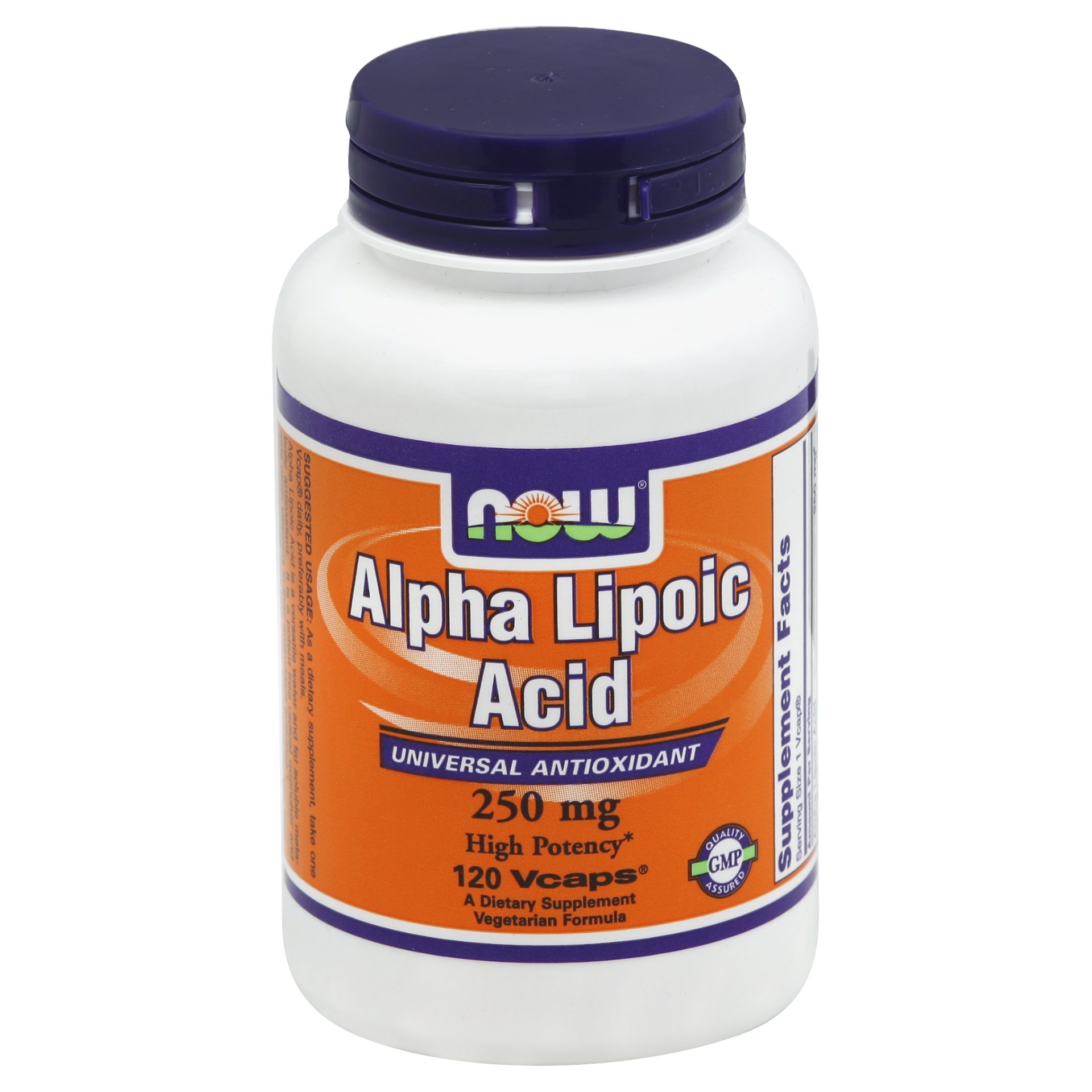 slide 1 of 2, Now Naturals Alpha Lipoic Acid,
