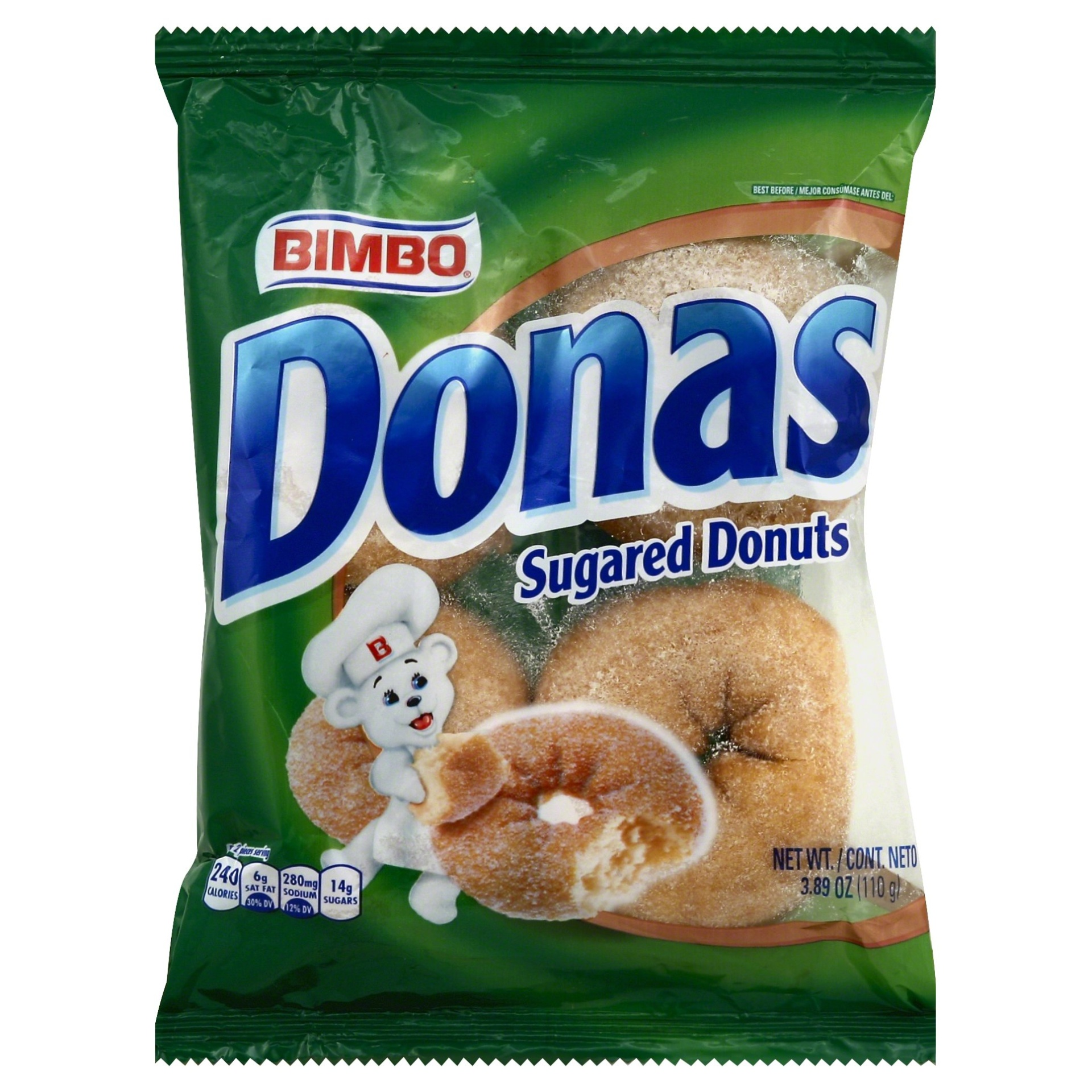 slide 1 of 1, Bimbo Donas,