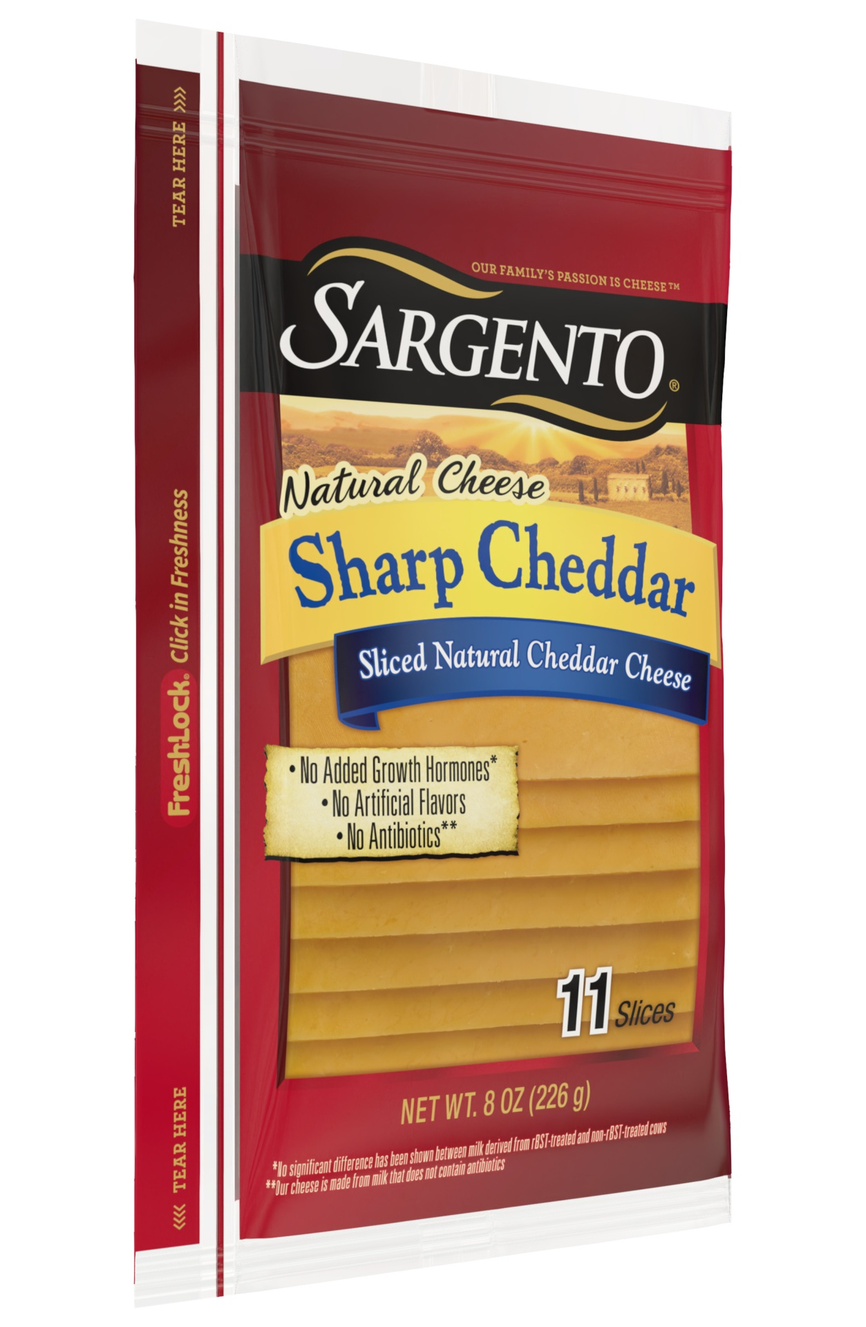 slide 3 of 7, Sargento Natural Sharp Cheddar Deli Style Sliced Cheese,