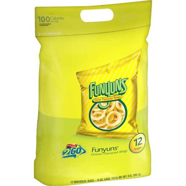 slide 1 of 4, Funyuns Onion Flavored Rings,